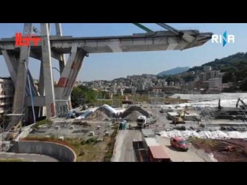 Στις 28 Ιουνίου ολοκληρώνεται η κατεδάφιση της γέφυρας Μοράντι…