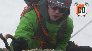 Testing The Alpinist Pro Crampons In A Storm | Climbing Daily Ep.1190 by EpicTV Climbing Daily