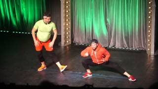 Skecz, kabaret = Paranienormalni - Pierwszy trening (Występ w Chorzowie)