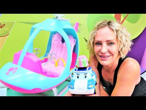 Spielspaß mit Robocar Poli und Nicole - Das Geburtstagsgeschenk - Spielzeugvideo für Kinder