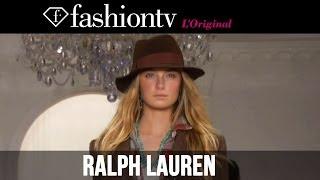 Ralph Lauren Fall/Winter 2014-15 | New York Fashion Week NYFW | FashionTV