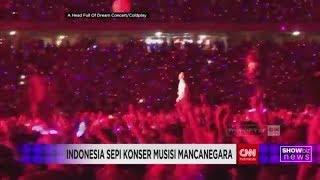 Sepi Konser Musisi Mancanegara Di Indonesia
