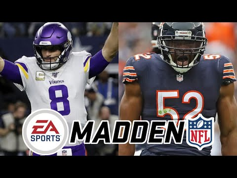 Vikings @ Bears - Monday Night Football Week 10 (2020) Madden Simulation