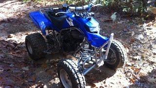 4. 2004 Yamaha Blaster Trail Ride Crash!!