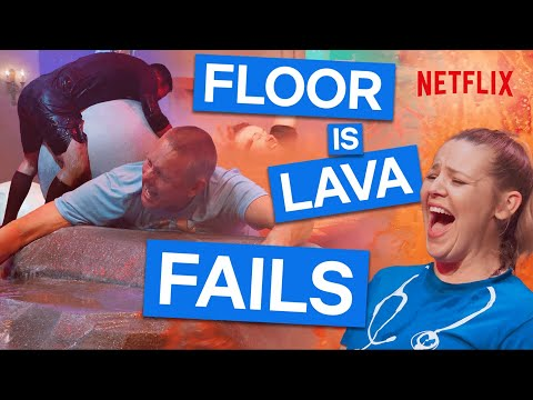 The Funniest Fails From Floor Is Lava