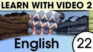 Get Dressed and Undressed, Learn English with Video