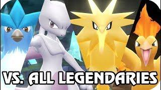 Video Pokémon Let's Go Pikachu & Eevee : Vs. All Pokémon Legendary (1080p60) MP3, 3GP, MP4, WEBM, AVI, FLV Desember 2018