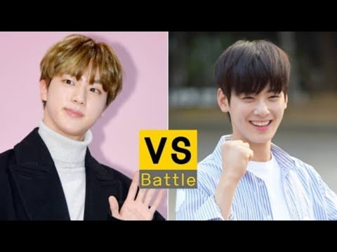 Knet choices Jin BTS and Cha Eun woo as Suho in Secret of angel remake drama