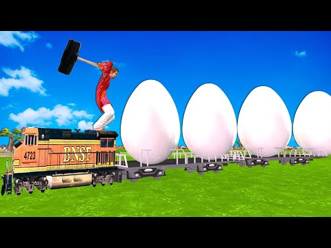 Egg Train अंडा ट्रेन Funny Comedy Story Hindi Kahaniya हिदी कहानिय Hindi Comedy Video