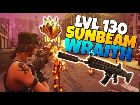 LVL 130 WRAITH Assault Rifle IS IT GOOD? | Fortnite Save The World