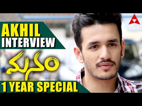 Manam 1 Year Special – Akhil Special Interview