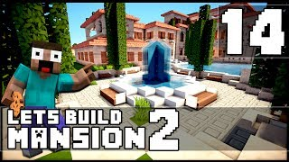 Minecraft: How To Make a Mansion - Part 14 - The Kitchen!