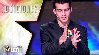 Video ¡Un cubo de rubik que se resuelve sin tocarlo!   Audiciones 7   Got Talent España 2017 MP3, 3GP, MP4, WEBM, AVI, FLV Januari 2019