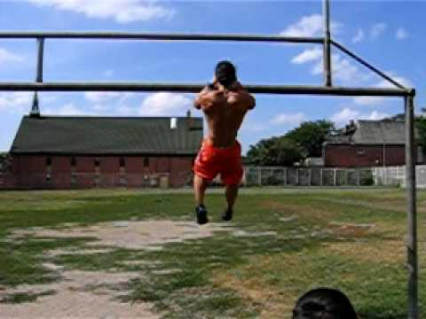 20 Clapping Pull-ups