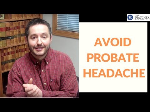Last Will and Testament (Video): Wills DO NOT avoid probate, by attorney Joesph J. Piatchek.