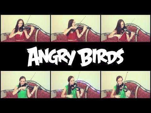 Anastasia Soina esittää Angry Birdsien teemabiisin viululla