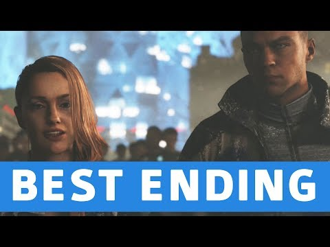 Detroit Become Human - Good / Best Ending (Everyone Survives) - SURVIVORS Trophy
