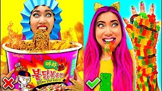 Video So Funny! Weird Fun Food Hacks You Should Try!!! (CC Available) MP3, 3GP, MP4, WEBM, AVI, FLV Juli 2019