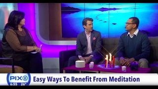 Pix11 Interview about Mindfulness Meditation with Pandit Dasa