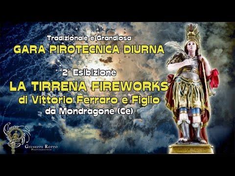 ADELFIA (Ba) - SAN TRIFONE 2016 - LA TIRRENA FIREWORKS da Mondragone (Ce) - Diurno