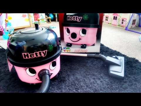 Pink Hetty Henry Vacuum Cleaner | Surprise Review by Kids! Nadia Amani Toys