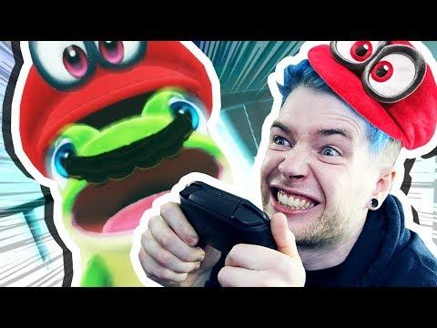 SUPER MARIO ODYSSEY!!! **i'm so excited!!** (видео)