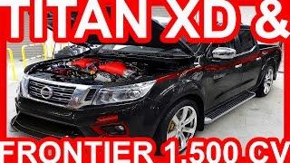 9. Nissan Titan XD & Frontier 1.500 cv #Nissan