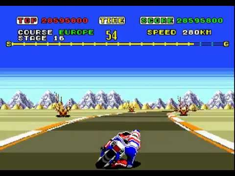 super hang on megadrive