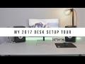 Desk Setup Tour 2017 – Pro Video Editing Setup