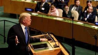 Hillary Clinton calls Trump UN speech
