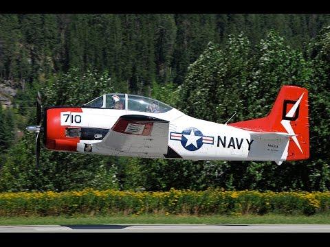 North American T-28 Trojan Low...