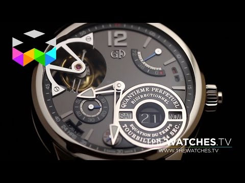 What Beauty Means At Greubel Forsey, Featuring The Quantième Perpétuel à Equation