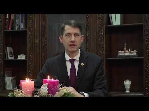 Dr. Pásztor Bálint, Szabadka Város Képviselő testülete elnökének karácsonyi köszöntője-cover