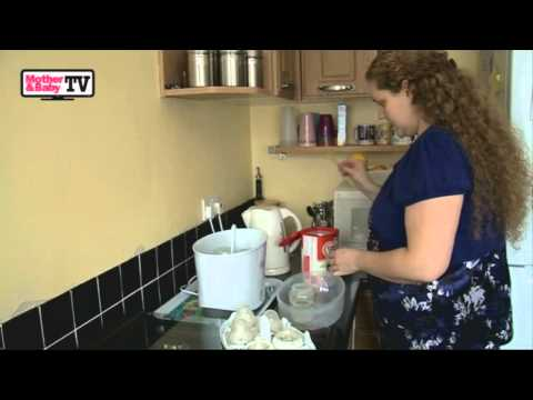 How to prepare a baby's bottle formula feed by Mother & Baby TV