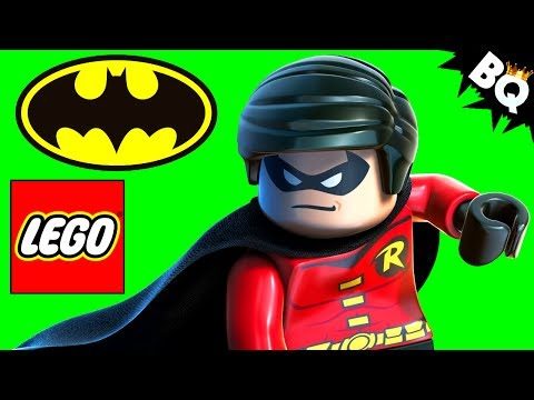 robin - LEGO Batman: Robin Minifigure Comparison Update. SUBSCRIBE to BrickQueen: http://bit.ly/1j3VMDo Check out more of my LEGO Super Heroes videos here: http://bit.ly/1lFC42A Batman's sidekick...