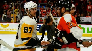 Handshakes: Penguins take Battle of Pennsylvania over Flyers by Sportsnet Canada