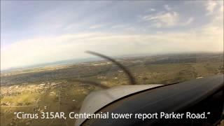 GoPro [HD] W/ ATC   GPS Approach Centennial   Cirrus SR20   Instrument Training 2