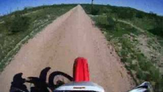 4. XR400 Top Speed\Helmet Cam test