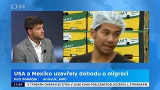 Dohoda o migraci mezi USA a Mexikem. Clo na dovoz nebude