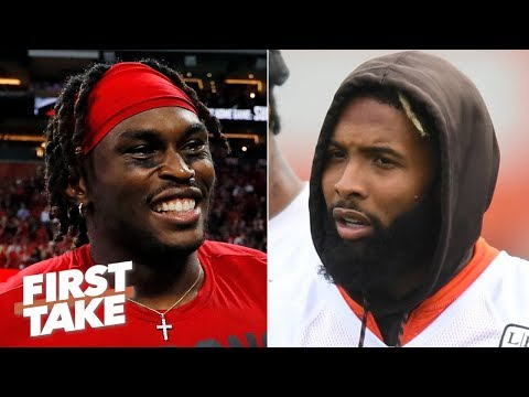 Video: Julio Jones is a better WR than Odell Beckham Jr. and Antonio Brown - Max Kellerman | First Take