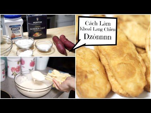 Cách Làm Khoai Lang Chiên Dzòn Rụm Thơm Ngon ♥ Sweet Potato Fries  | mattalehang - Thời lượng: 10 phút.