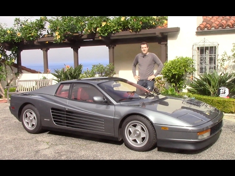 Here's Why the Ferrari Testarossa Is Shooting Up in Value