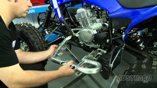 11. Fitting AC Nerf Bars to a Raptor 125