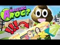 CHERU, JOKE FROG & GIANT COOKIE FLUSHED DOWN THE MAGIC TOILET    Amazing Frog Funny Gameplay Part 52