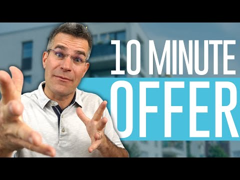 How to make an Offer on a Multifamily Deal in 10 Minutes