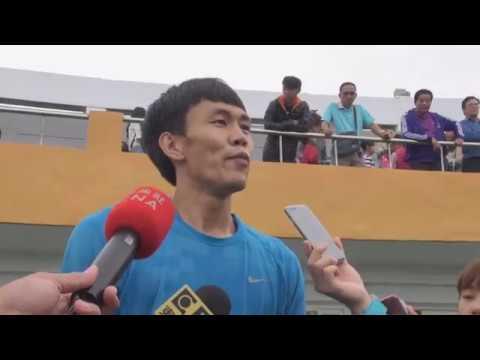 陳奎儒110公尺跨欄破紀錄 全運會3連霸[影]