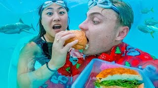 WORLD'S FIRST UNDERWATER RESTAURANT!!