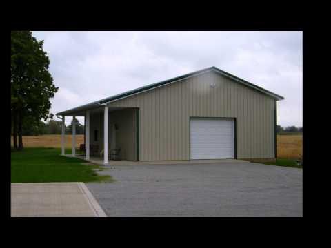 Armour metals steel truss pole barn kit diy details nolaya for Residential pole barn kits