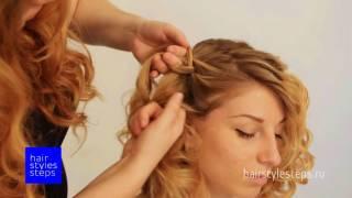 прически и укладки на средние волосы пошагово