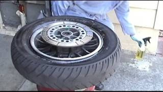 6. Kawasaki Voyager XII Rear TIre Change - 42 minute instructional video